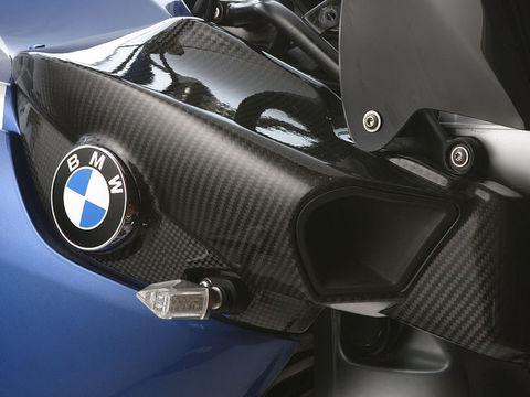 Крышка воздухозаборника (правосторонняя) BMW K 1200 R карбон
