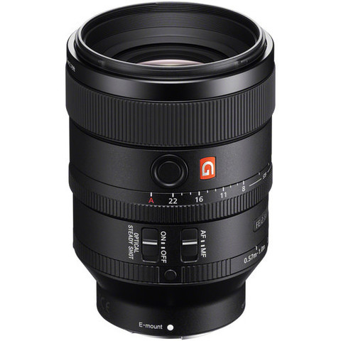 Объектив Sony FE 100mm f/2.8 STF GM OSS SEL-100F28GM Black для Sony E