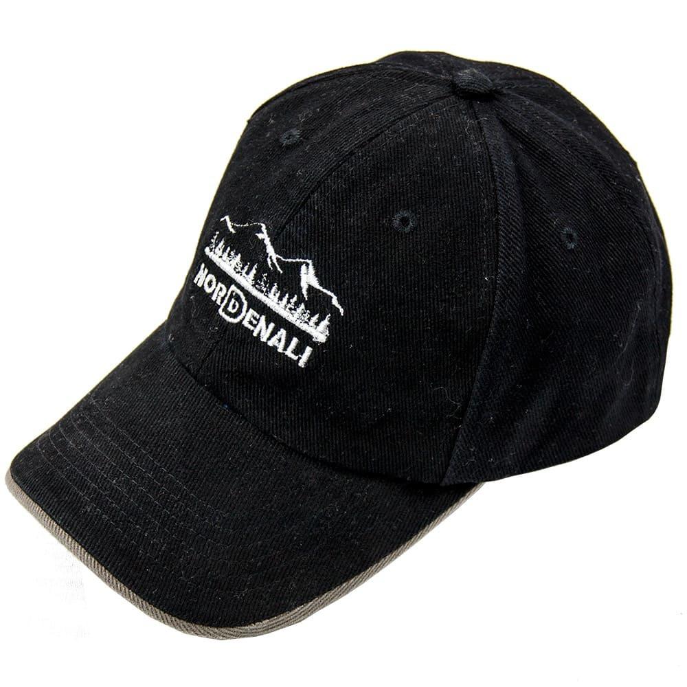 Кепка Nord Denali Logo (черная - black)