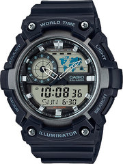Мужские японские наручные часы Casio AEQ-200W-1AVDF