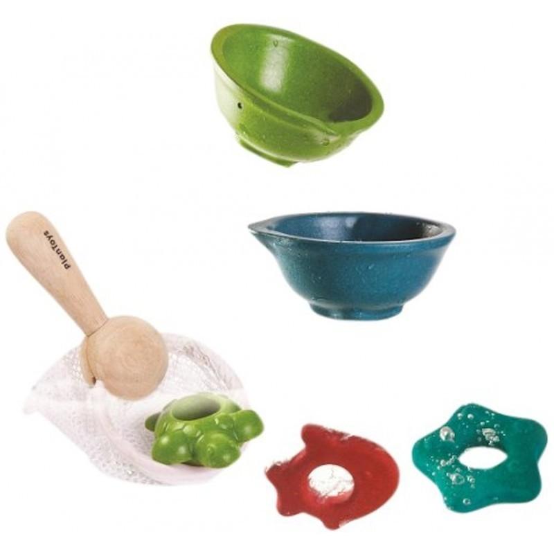Игрушка для ванны Сачок с рыбками