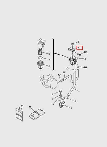 Кронштейн для лодочного мотора T15, OTH 9,9 SEA-PRO (6-11)