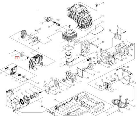 Фильтр поролоновый для лодочного мотора T3,5 Sea-PRO