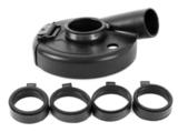 Защитный кожух для УШМ MESSER для шлифовки ( модель А4). Диаметр шлифовальной чашки 180 мм.