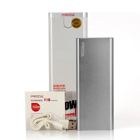 Внешний аккумулятор Remax Proda Power Box 8000mAh Серебро