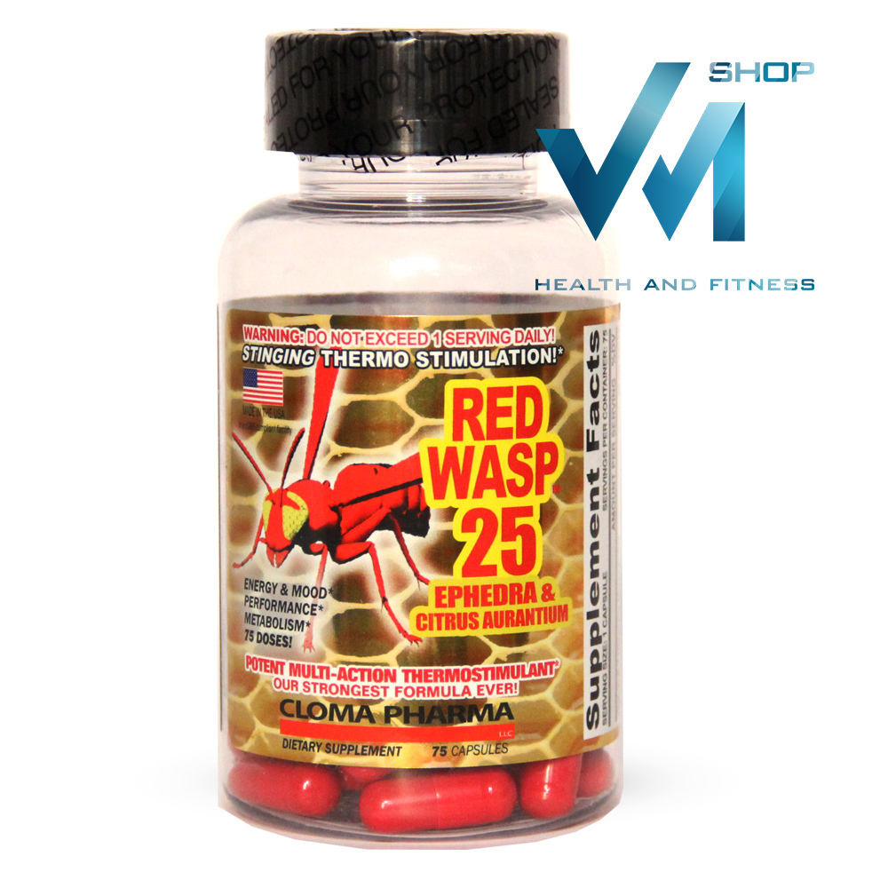 Cloma Pharma Lab Red Wasp 25