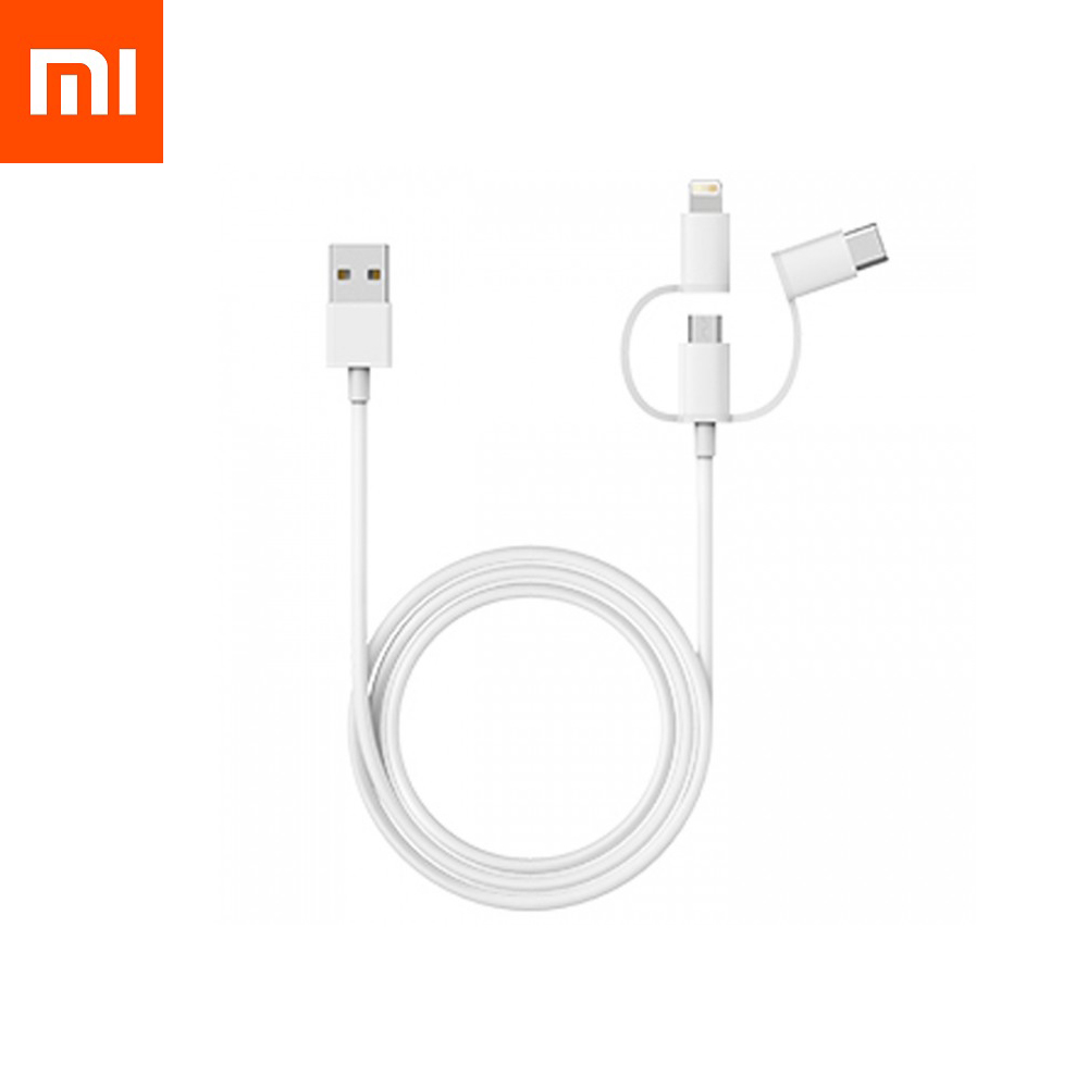 Кабель Xiaomi 3in1 cable (apple,type-c,micro usb)