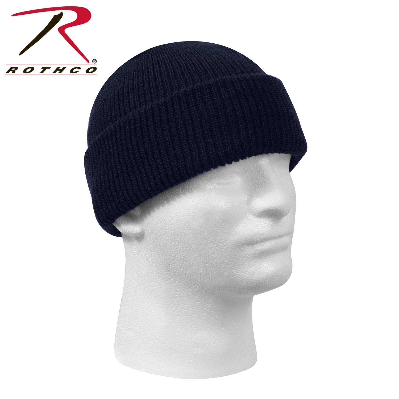 Шапка - Military Watch Cap Wool (темно-синяя)