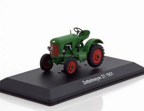 Tractor Zettelmeyer Z1 1951 1:43 Hachette #108