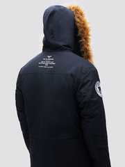 Парка Alpha Industries N-3B Alpine Parka Black (Черная)