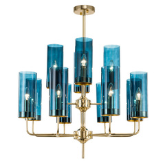 люстра Glass Tube Chandelier 12