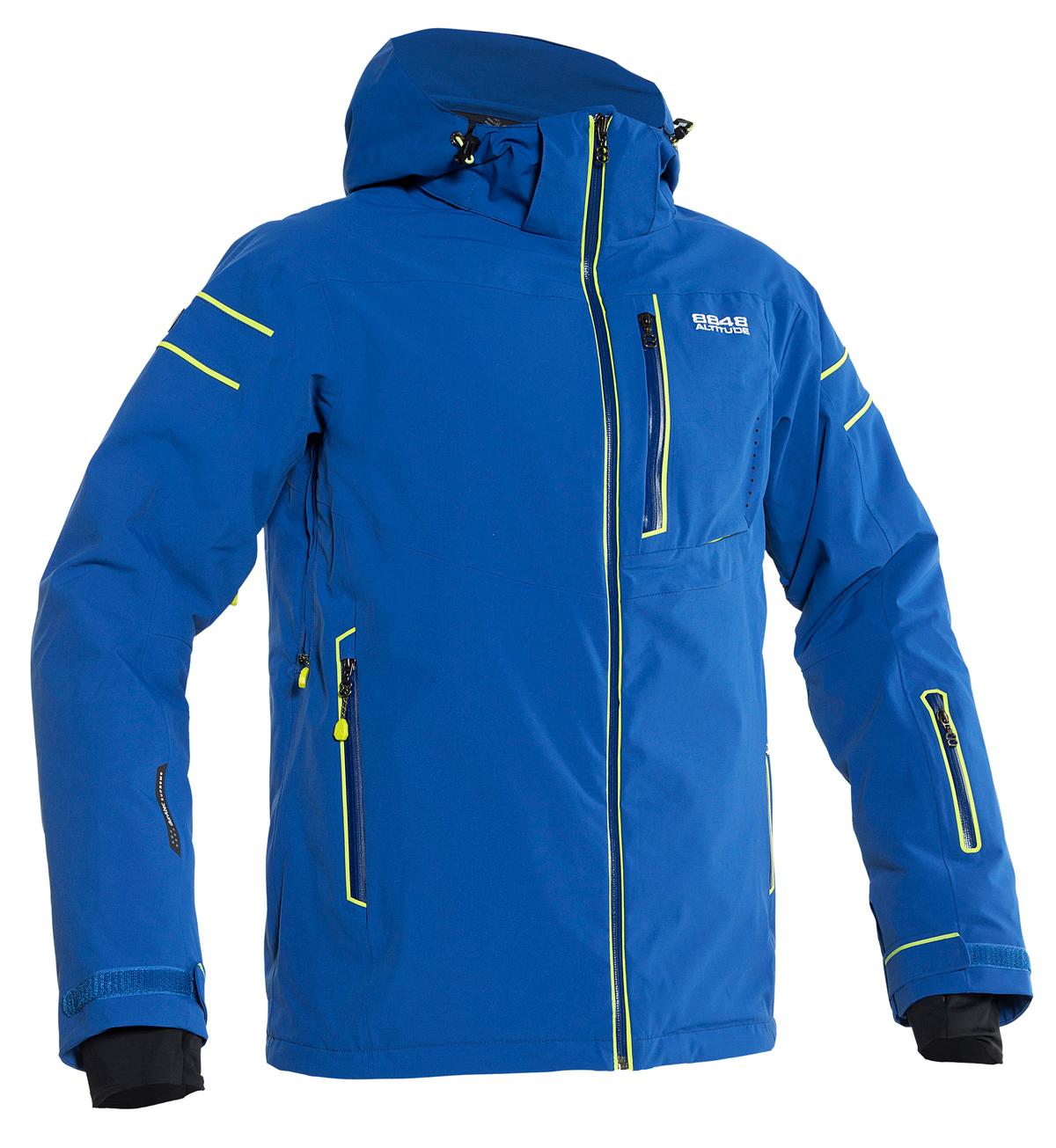 Горнолыжная куртка 8848 ALTITUDE «SWITCH» синяя (782940)