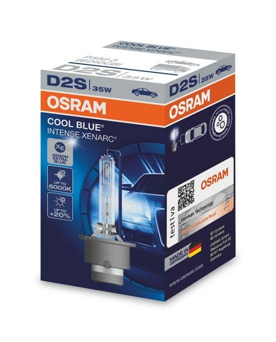 D2S Xenarc Cool Blue Intense Ксеноновая лампа OSRAM (артикул 66240CBI)