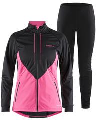 Лыжный костюм Craft Storm 2.0 Balance XC Black-Pink женский