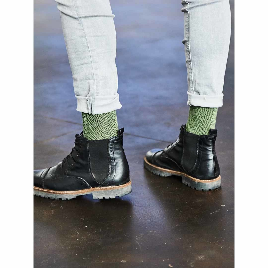 Мужские зеленые носки Marrey Forest
