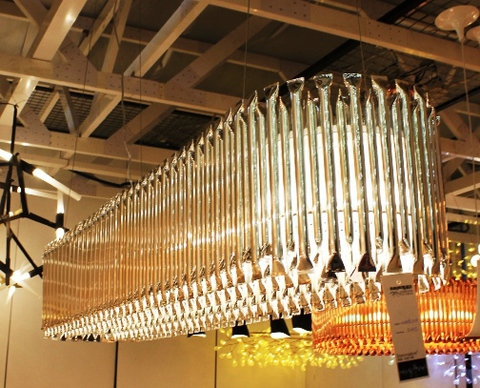 replica  Delightfull MATHENY_CHANDELIER ( oval+gold )