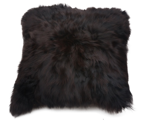 Подушка декоративная 40х40 Alpaka коричневая