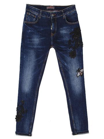 LA5679 джинсы женские, синие