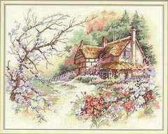 DIMENSIONS Очаровательный коттедж (Cottage Enchantment)