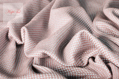 Ткань метражом бархат Висконсин (светло-розовый).