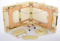 PRESTIGE трехсекционный складной массажный стол