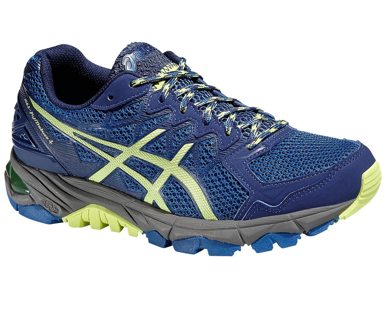 Женские кроссовки внедорожники Asiccs Gel-Fujitrabuco 4 (T5L6N 4285) синий