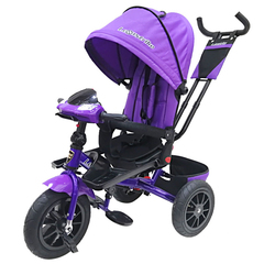 Велосипед Lexus trike 12x10 Надувные, светомуз. панель, Фиолетовый (T400M2-N1210P-Violet)