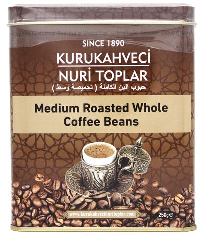 Турецкий кофе в зернах, Nuri Toplar Turkish, 250 г