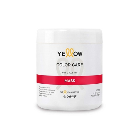 Маска Еллоу защита цвета для волос 1000мл