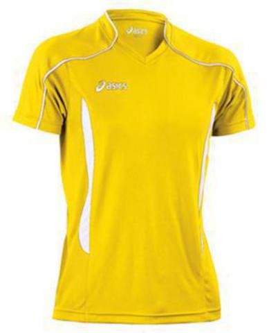 Футболка Asics T-Shirt Volo Yellow Распродажа
