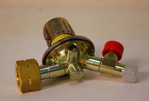 Газовый редуктор GOK M50-V/ST, выход 35º