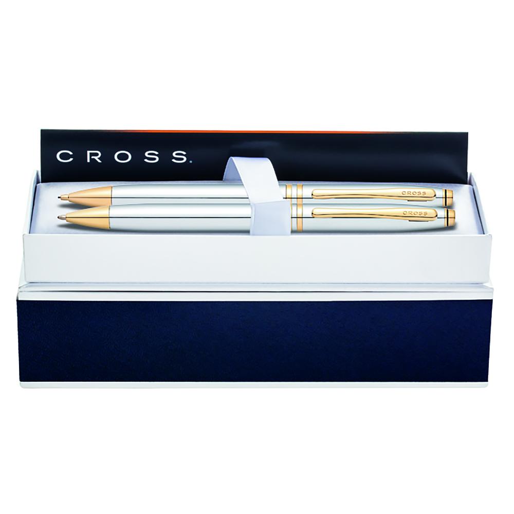 Набор подарочный Cross Avitar - Medalist, шариковая ручка + карандаш