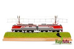Диорама Туту BOX с локомотивом ВЛ10, 1:87