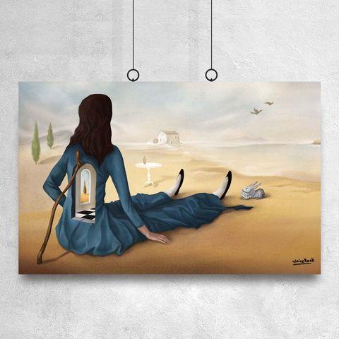 Картина «Алиса» 40х60см или 90х140см