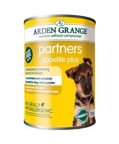 Arden Grange Partners Appetite Plus консервы для щенков и собак Суп с курицей 395 г
