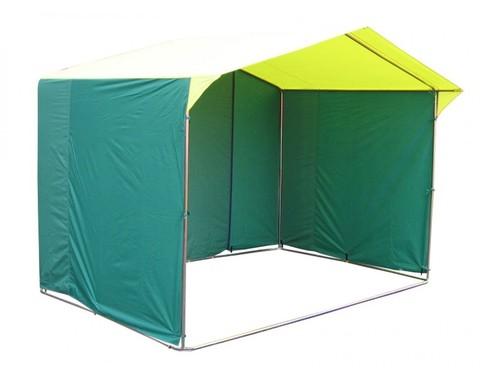 Торговая палатка Митек «Домик» 2 x 2 из трубы Ø 25мм, тент ПВХ