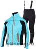 Женский лыжный костюм One Way Catama Vico Turquoise