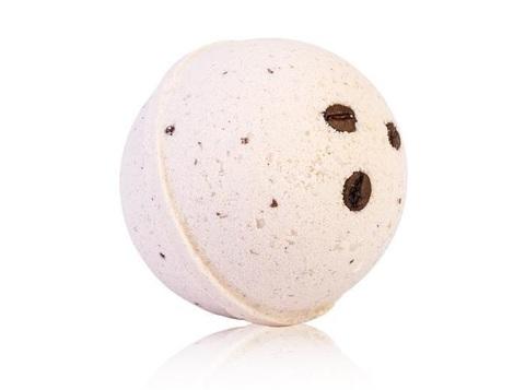 Гейзер макси-шар Кофейный Десерт для ванн с морской солью и маслами, d 9см, 280±15гр. TMChocoLatte