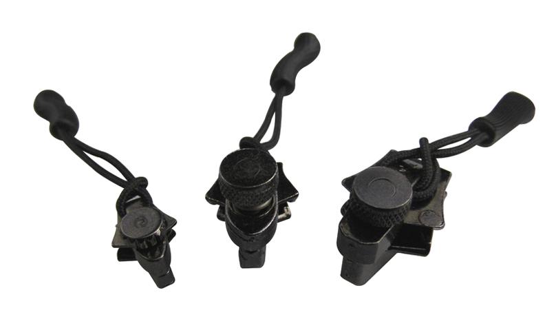 Ремнабор для застежек-молний Zipper repair (комплект 3 размера) Black