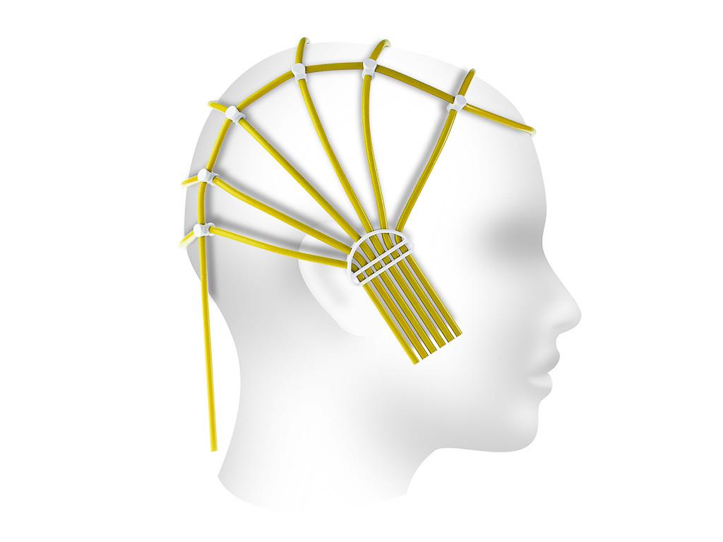 Шлем ЭЭГ 42-48 см для фиксации электродов, взрослый