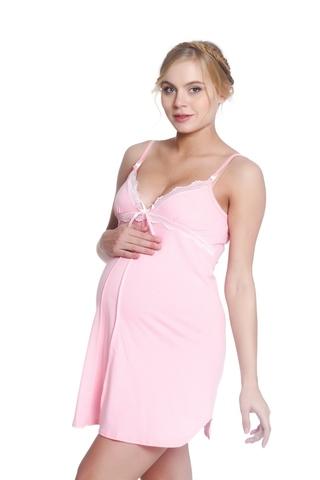 Сорочка 09616 розовый