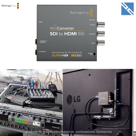 Конвертер Blackmagic Design Mini Converter SDI to HDMI 6G