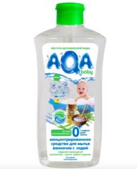 AQA baby. Концентрированное средство для мытья ванночек с содой, 500 мл