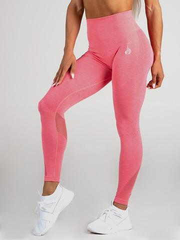 Женские лосины Ryderwear Seamless Tights - Coral Marle