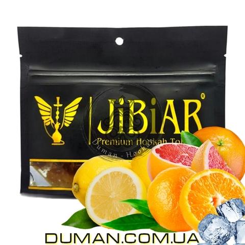 Табак JiBiAR Phaselis (Джибиар Фаселис - Лед Грейпфрут Апельсин Лимон)