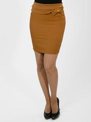 2042 юбка коричневая
