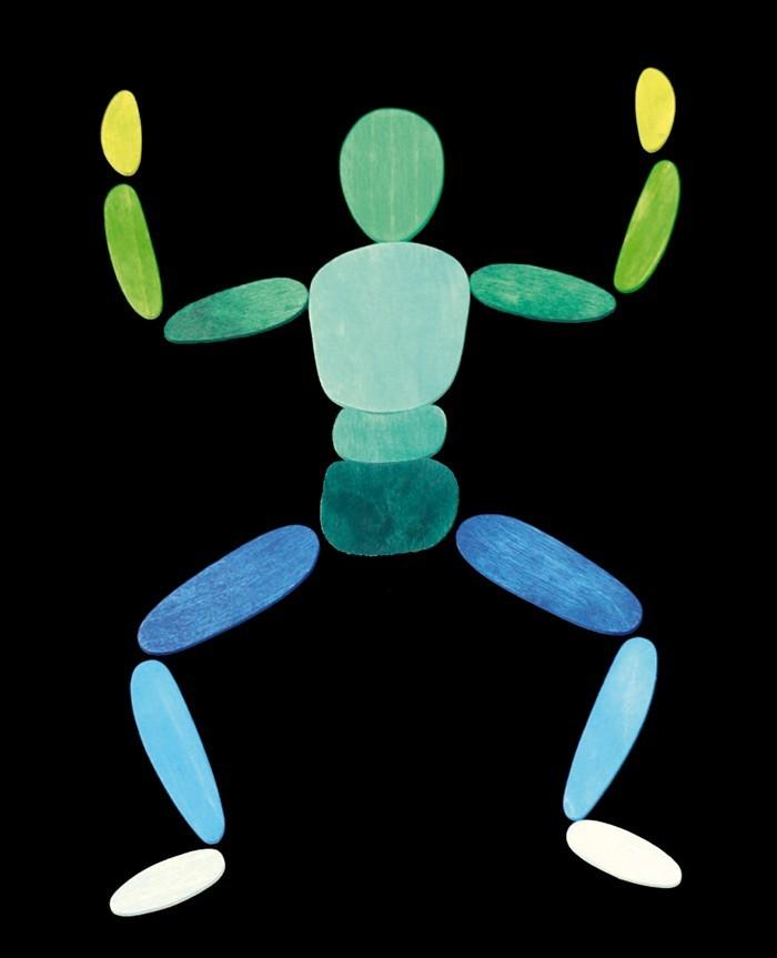 Магнитная мозаика В движении, 2 фигуры