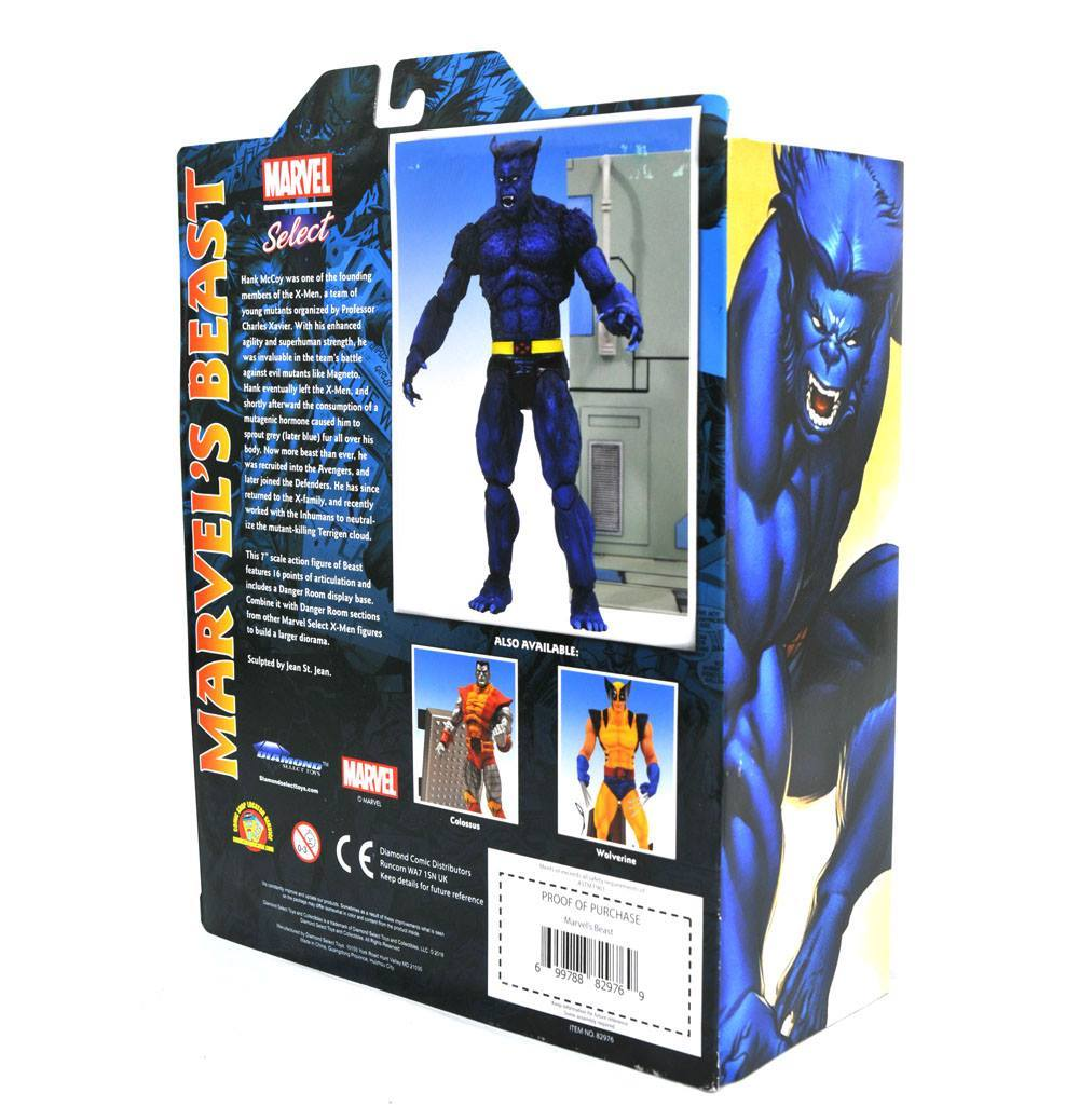 Фигурка Зверь (Beast) - Marvel Select