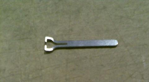 21200142 Пластина для удержания клапана в коллекторе