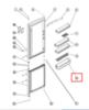 Балкон двери нижний для холодильника INDESIT (ИНДЕЗИТ) 286006